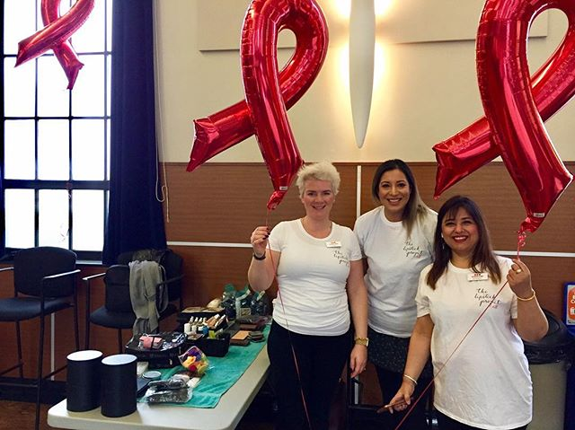 Thanks to our stellar volunteers who gave mini-manicures @bcwomens Oak Tree Clinic World AIDS Day celebration yesterday. We love sharing community and spreading joy in the form of fresh, colourful nails. #worldaidsday