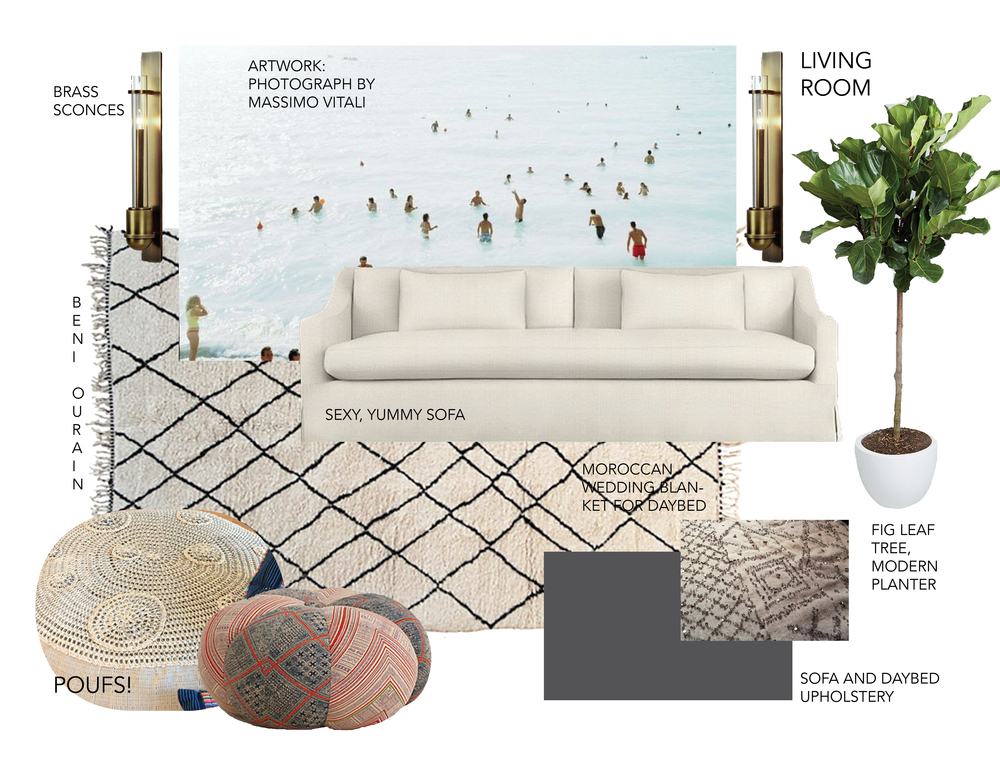 Your mood board will look something like this!
