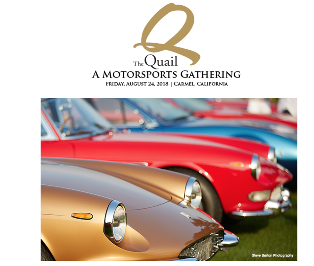 The Quail Motorsports Gathering