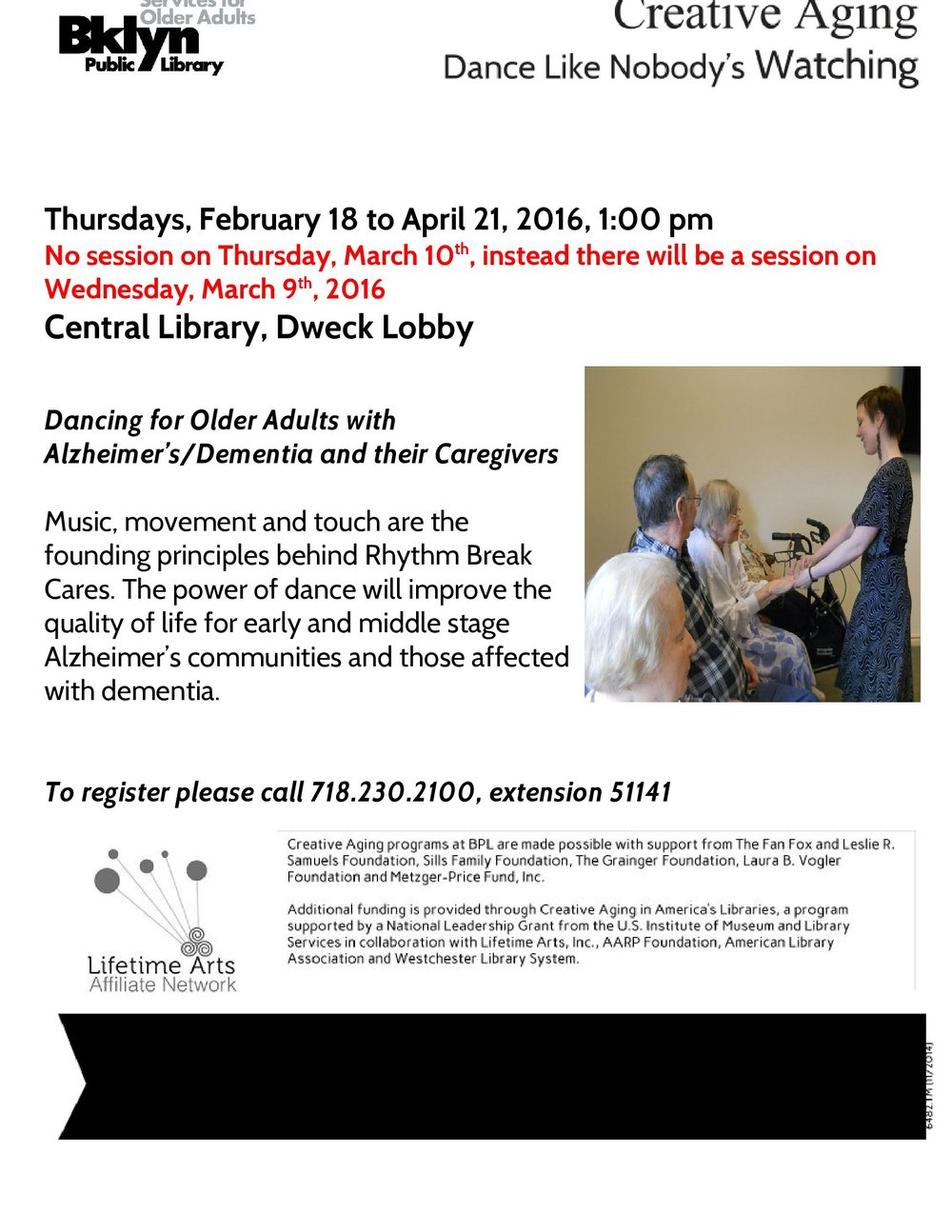 Dance with us at Brooklyn Central Library!