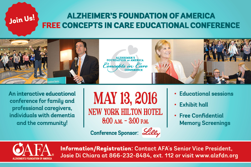 Free AFA Conference May 13th!