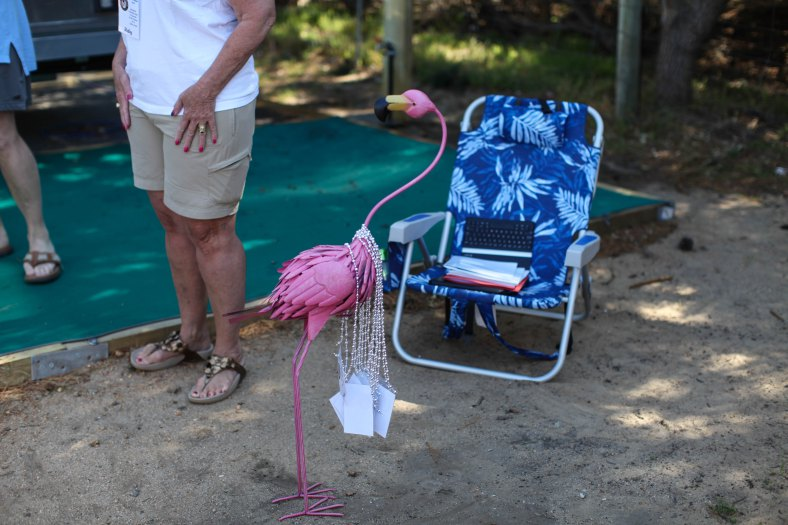 Essential rally flamingo!