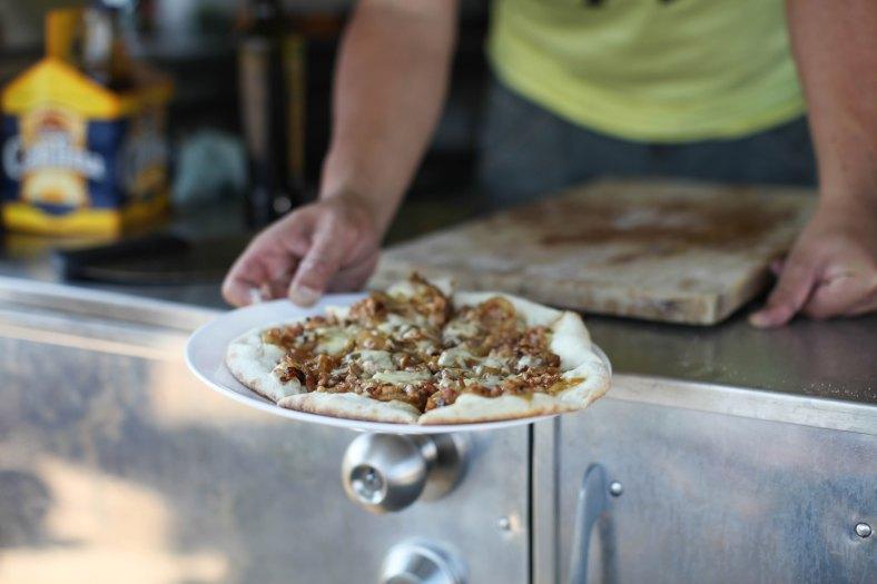 Free gourmet pizzas!