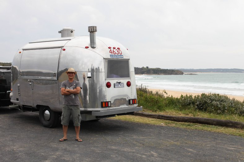 'Happy Camper Pizza' on the road