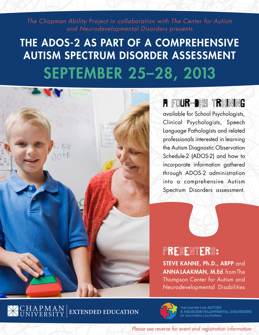 Autism Conference Flyer