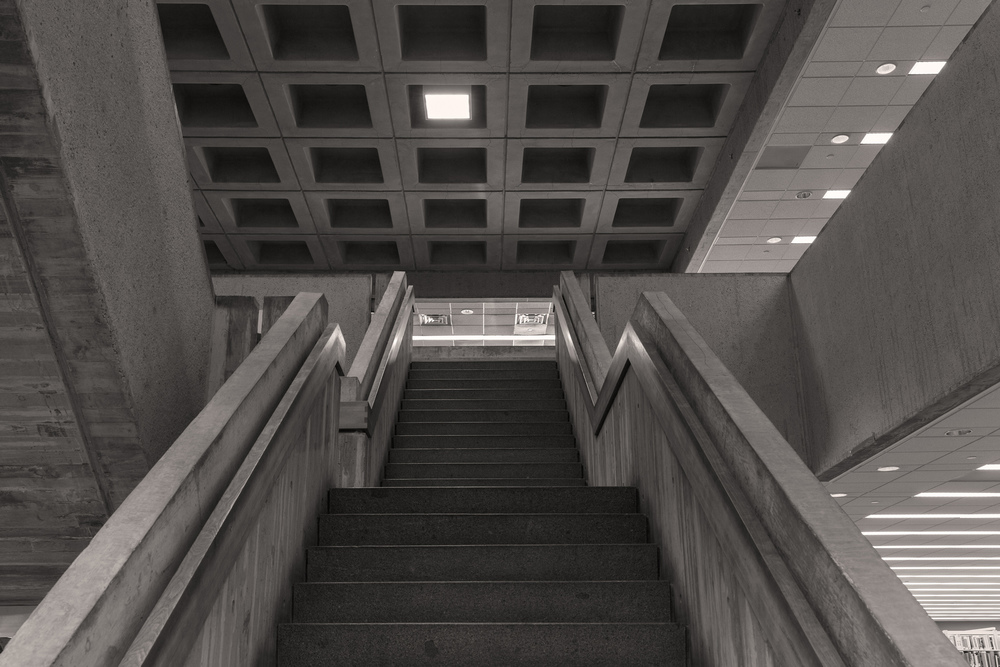 Atlanta Central Public Library (Interior 2) 16x24 inches archival inkjet print 2015