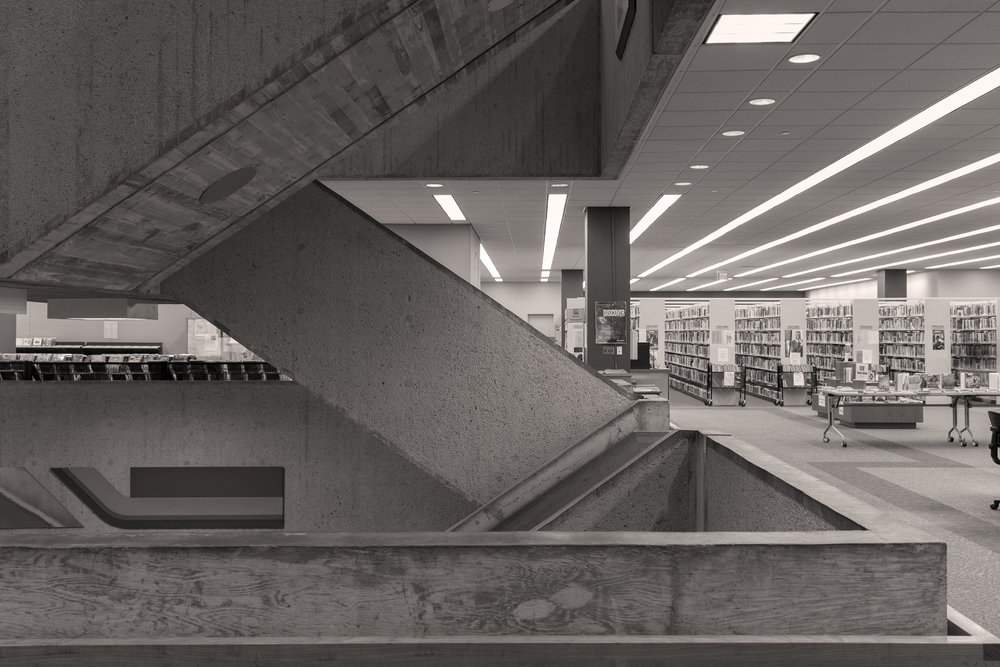 Atlanta Central Public Library (Interior 3) 16x24 inches archival inkjet print 2015