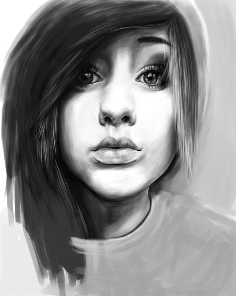 Digital Photoshop Painting.