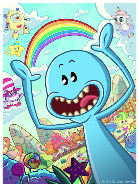 THE ADVENTURES OF MR. MEESEEKS IN NEVER PAST BEDTIME LAND