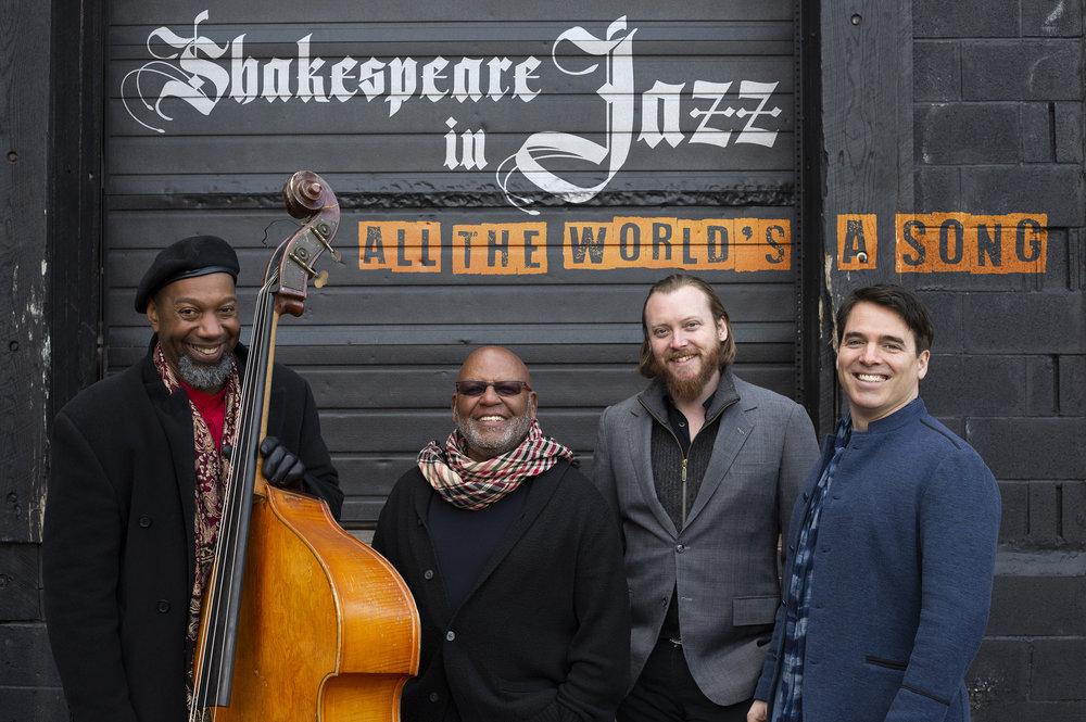 Click to download:  Shakespeare in Jazz (quartet) 01 - high resolution   Shakespeare in Jazz (quartet) 01 - low resolution  Photo credit - Flynn Larsen