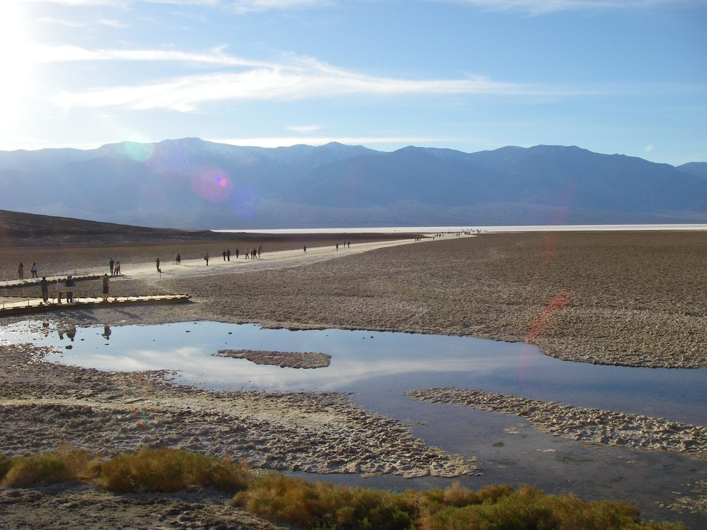 Badwater Basin, Death Valley National Park.  (Image by Emily Benson)