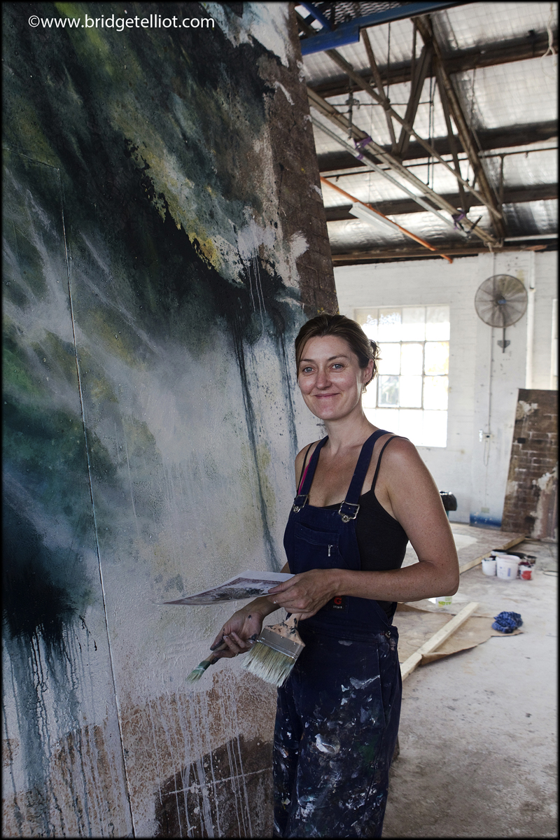 Angeline Drinan, head of scenic art, Opera Australia