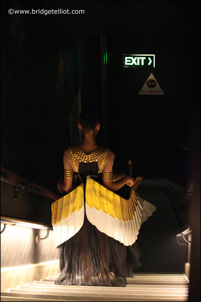 Backstage in the Sydney Opera House