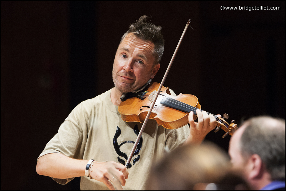 Nigel Kennedy, violinist
