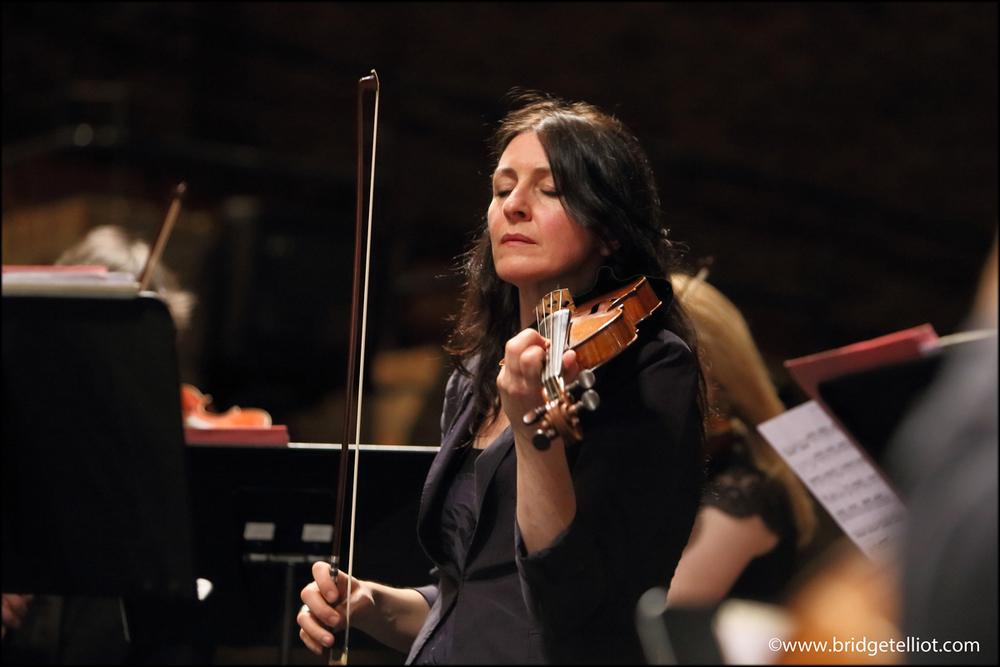 Alice Evans, violinist