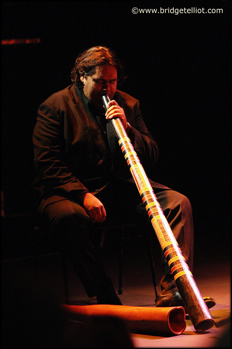 William Barton, didgeridoo player