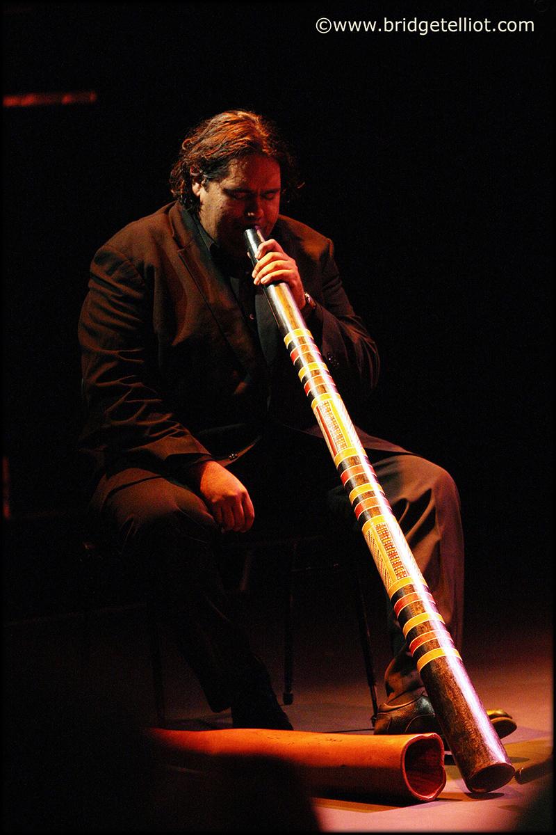 William Barton, didgeridoo player