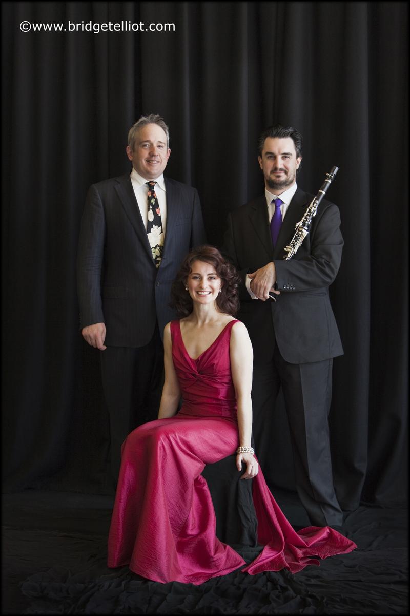 TrioKROMA: Clemens Leske, Elena Xanthoudakis and Jason Xanthoudakis