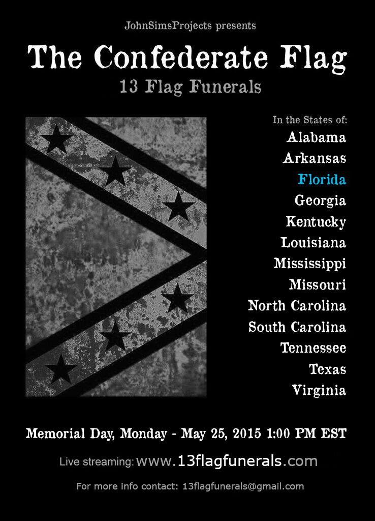 13 Flag Funerals by John Sims