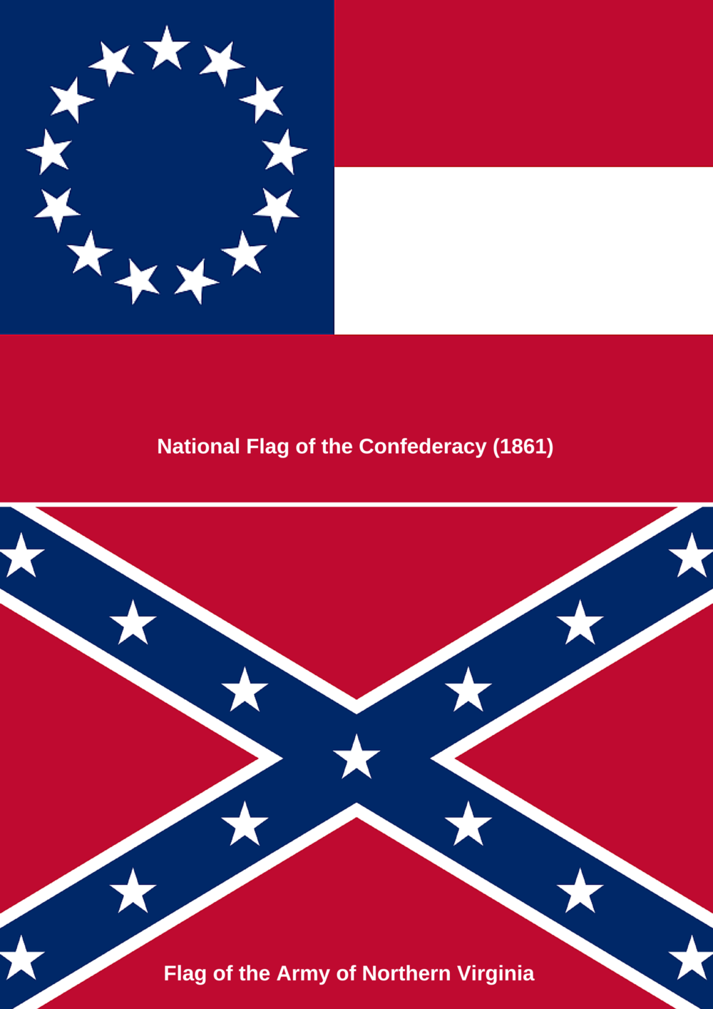 Flags Confederacy by Julian C. Chambliss