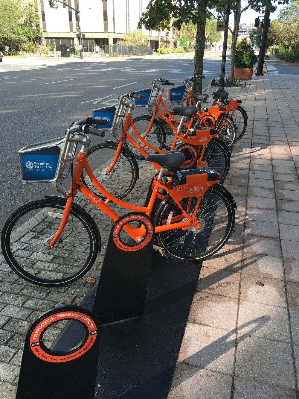Juice Bike Station