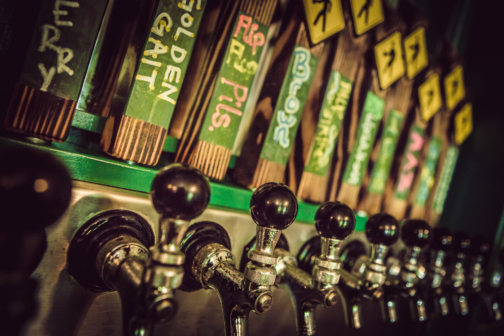 With 9 rotating taps pouring our award winning beer, you're sure to find one to satisfy your thirst.
