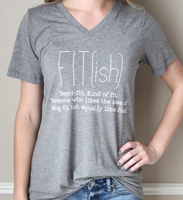 Get our original FIT(ish)®️ shirt for $11.25 today, during our Small Biz Saturday sale. ———- 50% off our entire store + $1.99 flat rate shipping on all U.S. orders🎄Use code: BF2017 at the checkout.