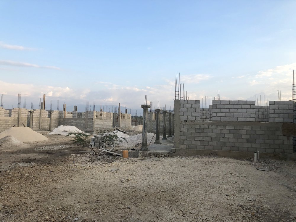 The construction of the Elevation Phase - Phase 4 of 6 building phases. (March 17, 2019)