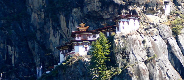 Taktsang (Tigers Nest) - One of our afternoon excursions