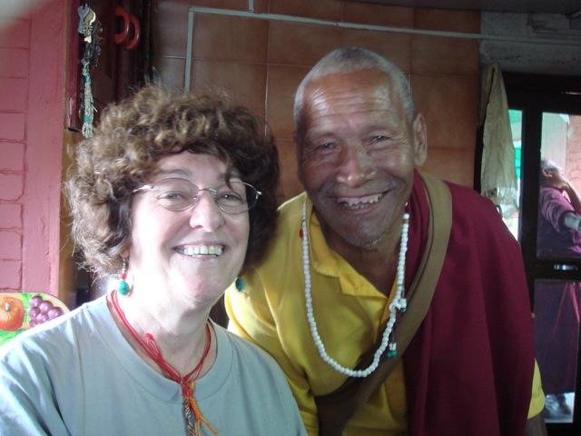 Rose & Lama Phuntsok 2006