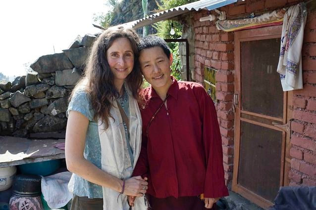 Chloe & Ani Tenzin Chemi 2011