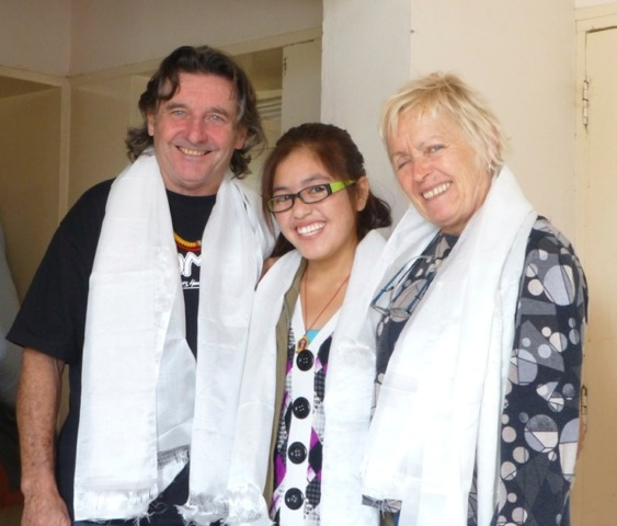 Keith, Palzes & Angela 2013