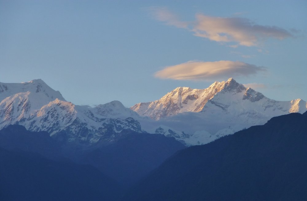Mt Kanchenjunga from Pelling, Western Sikkim
