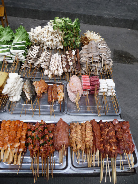 Some tasty street-side snacks!