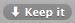 keepr-keep-it button