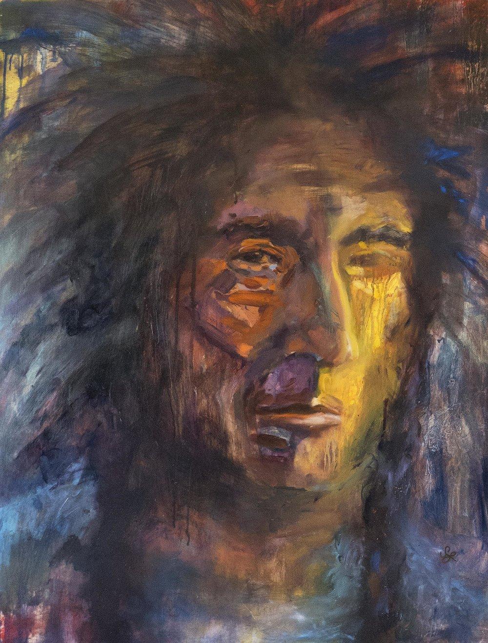 Woody Kipp (2) 30 x 40 oil on panel  N/A