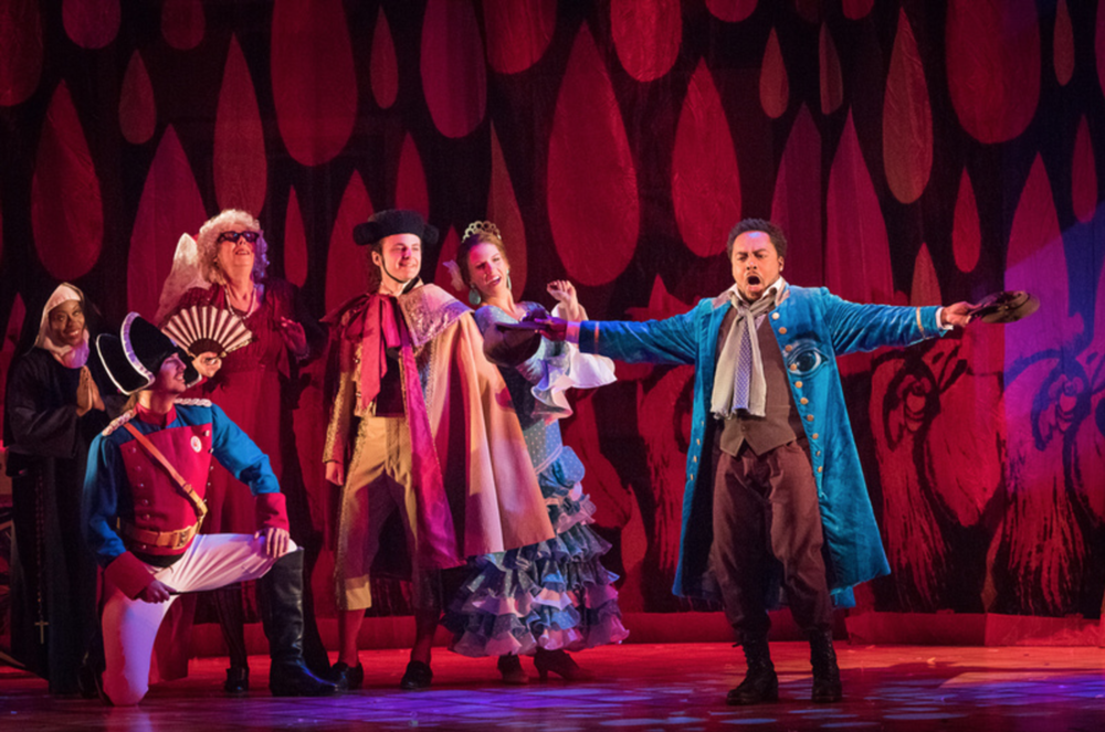 VIRGINIA OPERA: Barber of Seville (Ben Schill Photography)