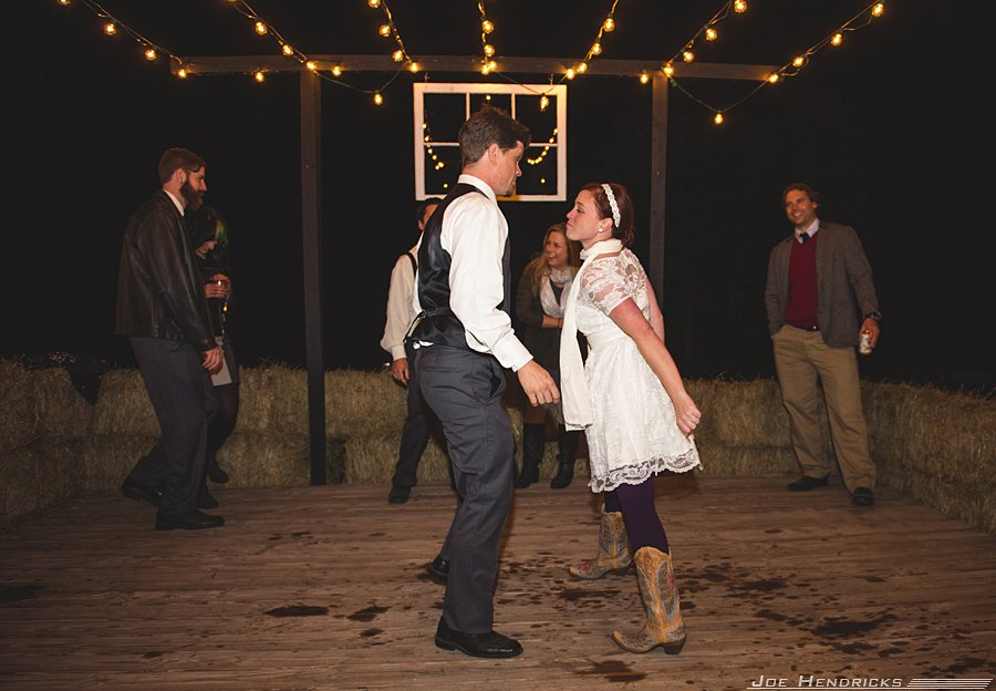 on-camera flash, dancing