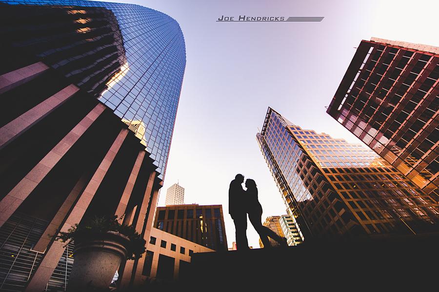 silhouette downtown san francisco