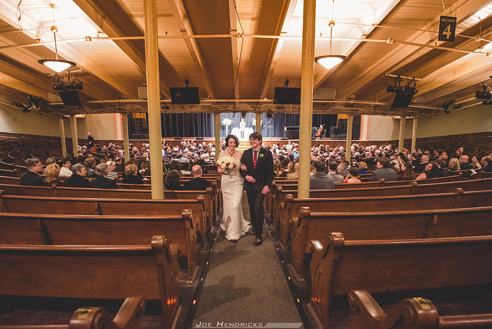 ceremony at the Ryman
