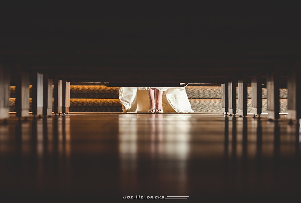 shoes under the pews