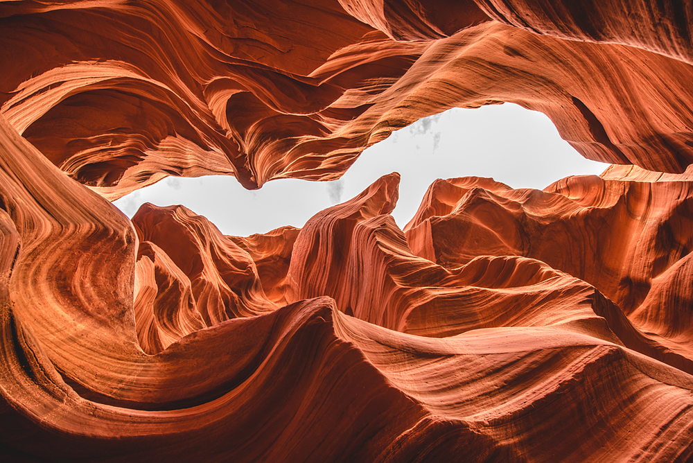 antelope canyon up