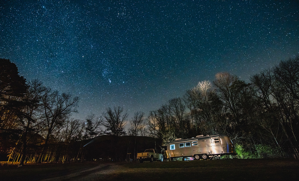 The Airstream Under Stars Creative Photography Coach