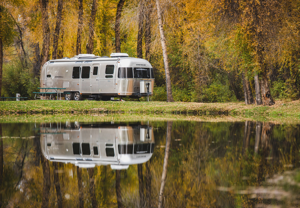 Airstream in colorado