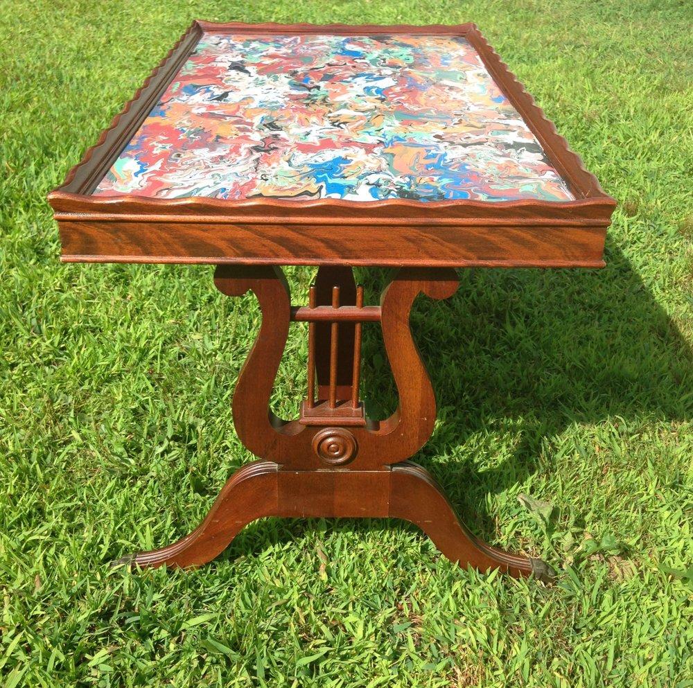 Acrylic on Table