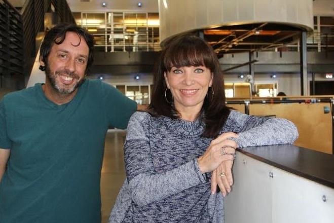 Juan Oubina and Montse Barrena