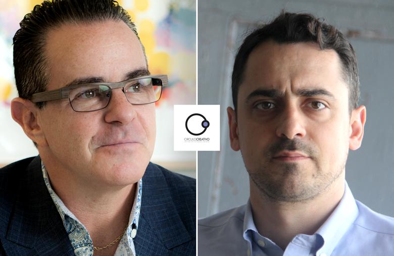 Luis Miguel Messianu y Gustavo Lauría