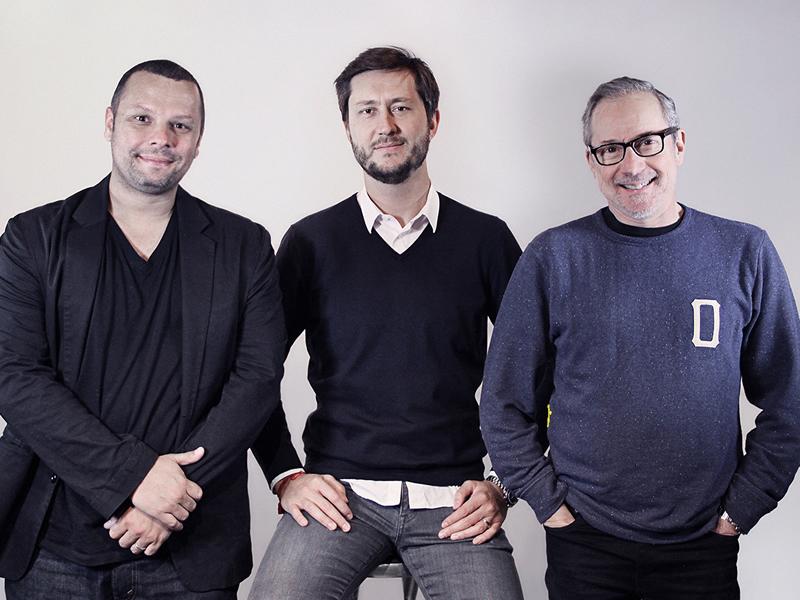 Fabio Seidl, Carlos Murad y Laurence Klinger