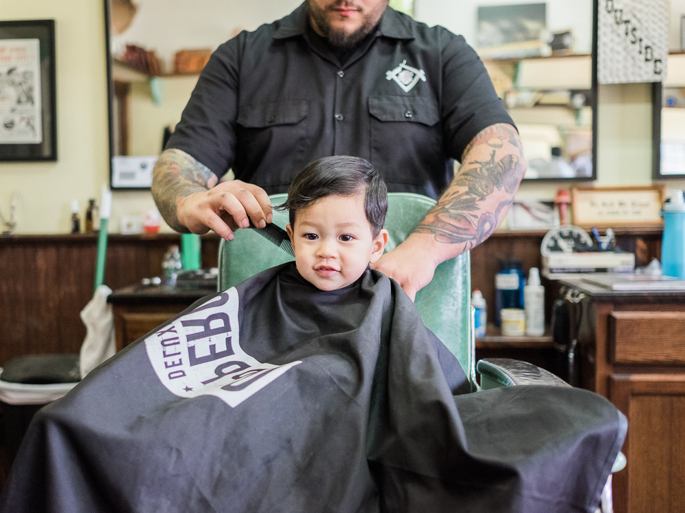 Js Haircut Toddler Editorial Session In University Heights San