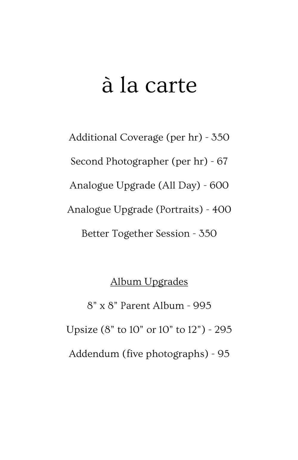 2017 Wedding Pricing Cards - 04alacarte.jpg